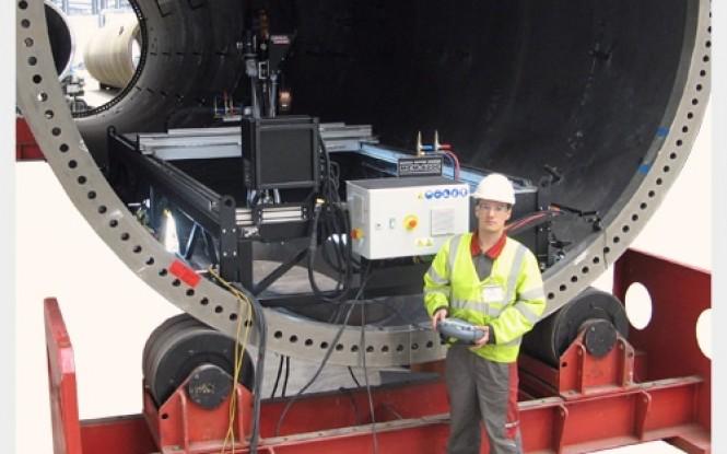 جوش و برش پرتابل 5 محور بروش زیر پودری مدل MCM ساخت پروموتک لهستان