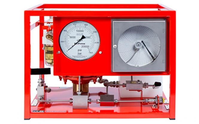 هیدروتست پمپ پنوماتیکی (بادی) هیدرولیکی 2931 بار فشارقوی مدل AHP-CR-Range ساخت هایفورس انگلستان