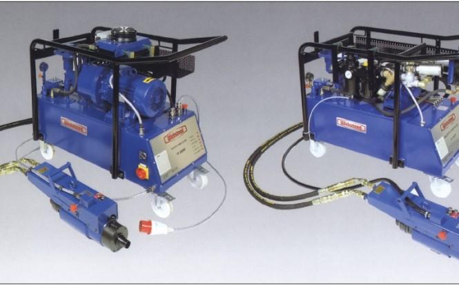 تیوب پولر تمام اتوماتیک هیدرولیکی الکتریکی با ظرفیت 30 تن مدل TP-2000E ساخت ویکستید انگلستان