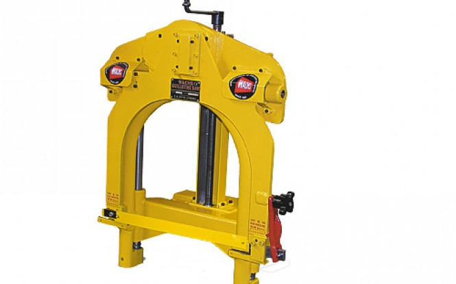 لوله بر دروازه ای پرتابل گیوتین با درایو پنوماتیکی ، هیدرولیکی و الکتریکی با امکان کار بصورت افقی و عمودی مدل Guillotine Model D Pipe Saw ساخت وش آمریکا