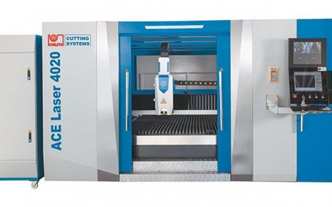 برش لیزری مدل  ACE Laser 4020 4.0 RS6 ساخت کنوت آلمان