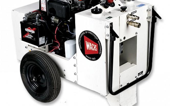 پاوریونیت هیدرولیکی گازوئیلی جهت تجهیزات پخ زنی و برش لوله مدل HCM-2G 11HP ساخت وش آمریکا