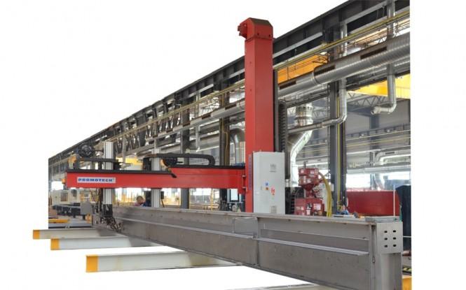 جوش و برش بوم و ستون بروش SAW/MIG-MAG مدل C&B ساخت پروموتک لهستان