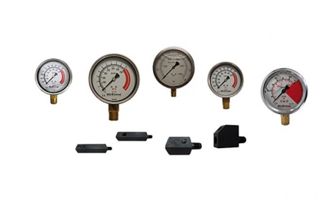گیج و پایه گیج و منیفولد با دقت بالا تا فشار 700 بار مدل HG/HGA/AGA-Range ساخت هایفورس انگلستان