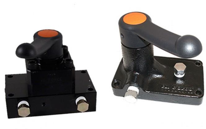 شیر کنترل برقی و دستی مستقیم با فشار 700 بار مدل PMV-Range ساخت هایفورس انگلستان
