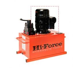 الکترو موتور تک فاز و سه فاز 60 هرتز جهت پمپ های الکتریکی هیدرولیکی Electric Motor ساخت هایفورس انگلستان