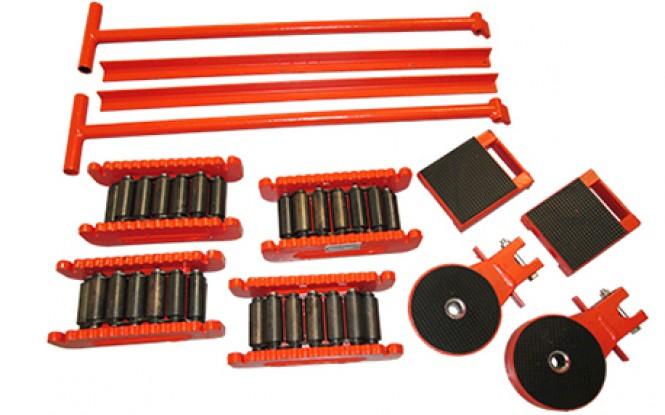 اسکیت حمل بار با ظرفیت 60 تن و مقاومت بالا جهت جابجایی ابزارآلات مدل RKF-Range ساخت هایفورس انگلستان