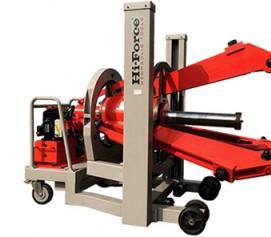 پولی کش هیدرولیکی فشارقوی فوق سنگین متحرک تا ظرفیت 220 تن دارای ریموت کنترل مدل SPP-Range ساخت هایفورس انگلستان