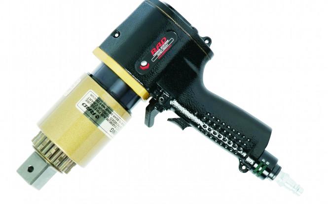 آچار ترکمتر مولتی پلایر پنوماتیکی بادی تک سرعته فشار قوی مدل RAD - Single Speed - 15 DX ساخت راد کانادا