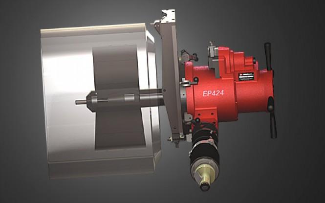 فلنج فیسر ماژولار با قابلیت پخ زنی اتوماتیک انتهای لوله و ولوهای بزرگ مدل EP-424 ساخت وش آمریکا