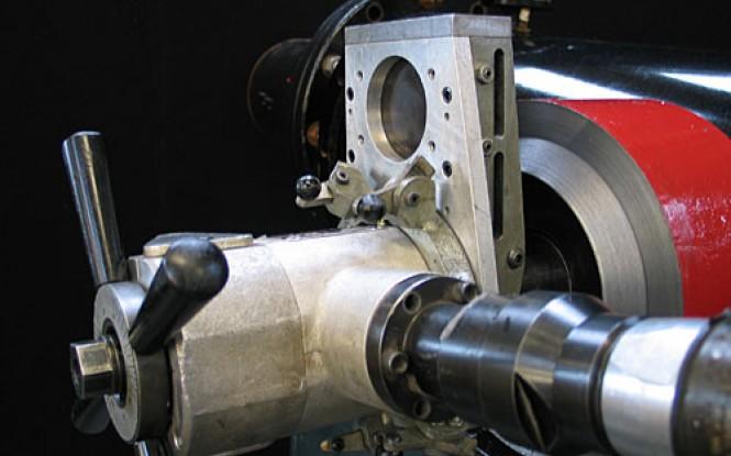 فلنج فیسر با موتور الکتریکی ، پنوماتیکی (بادی) یا هیدرولیکی جهت فیسینگ و تراش فلنج مدل FF-313 ساخت وش آمریکا