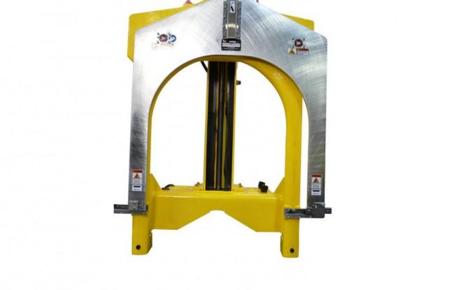 لوله بر دروازه ای پرتابل گیوتین با درایو پنوماتیکی ، هیدرولیکی و الکتریکی با امکان کار بصورت افقی و عمودی مدل Guillotine Super D Pipe Saw ساخت وش آمریکا