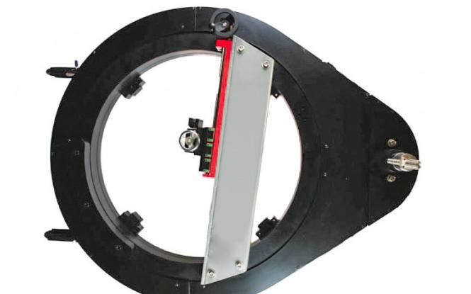 فلنج فیسر با کلمپ خارجی با درایو پنوماتیکی (بادی) یا هیدرولیکی مدل Belt Drive Flange Facers ساخت وش آمریکا