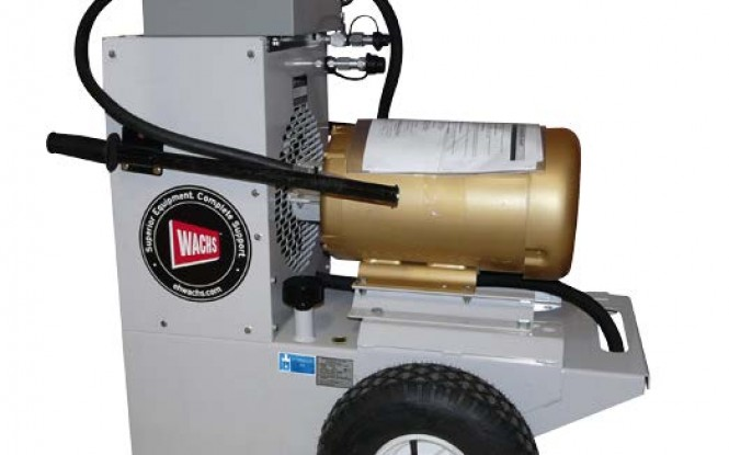 پاوریونیت هیدرولیکی الکتریکی (برقی) 380 ولت جهت تجهیزات پخ زنی و برش لوله مدل HCM-3E3 15HP ساخت وش آمریکا