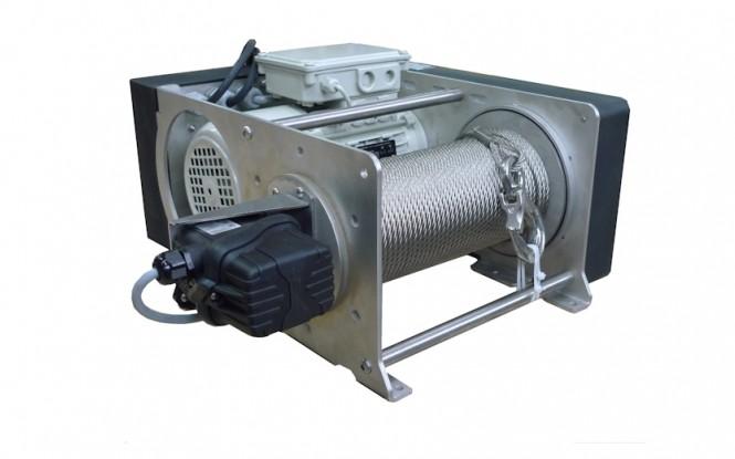 وینچ کشنده برقی الکتریکی با ظرفیت 250 کیلوگرم مدل PRIMO INOX stainless steel version 250 kg ساخت هوچز فرانسه